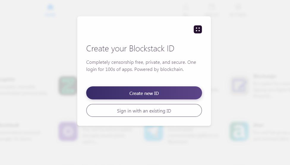 blockstack id