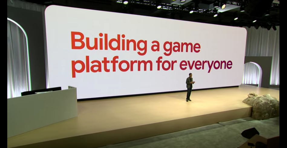 Stadia Building a game