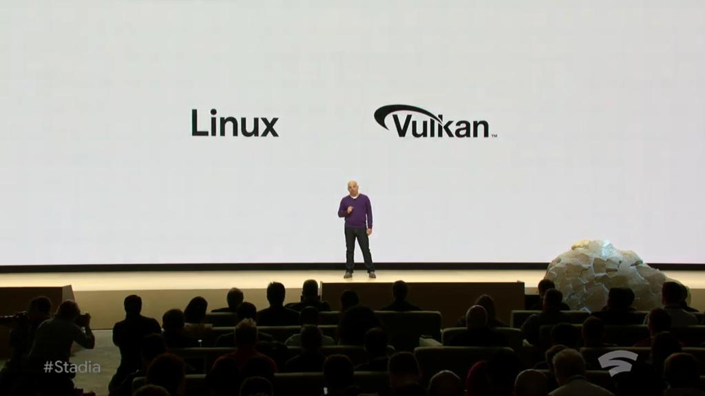 Stadia Linux y Vulkan