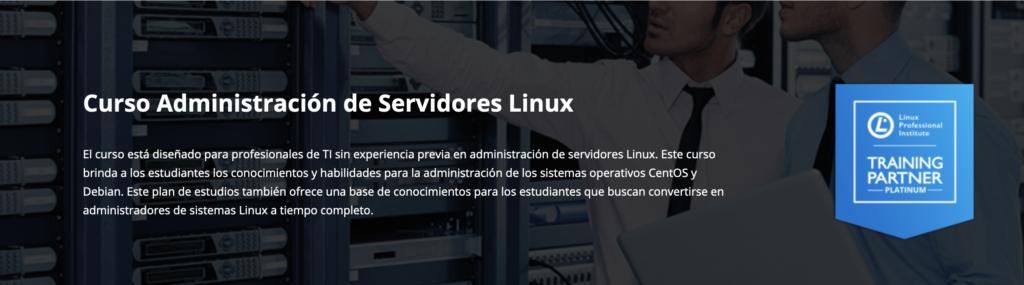 Curso administración de servidores Linux