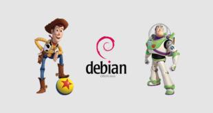 Debian y su relación con Toy Story