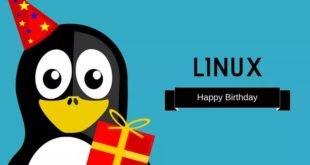 Cumpleaños Linux
